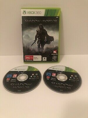 Middle-earth: Shadow of Mordor  - Microsoft Xbox 360 Game No Manual