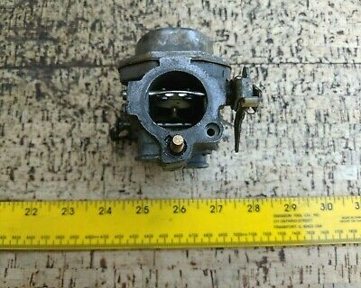 JOHNSON EVINRUDE 15 HP CARB, CARBURETOR + high and low speed