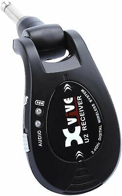 XVIVE X-Vibe Wireless Guitar System XV-U2 #Black