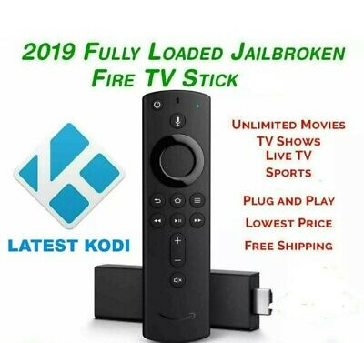 Amazon Fire Tv Stick 2nd Gen With Alexa With Kodi19 2019