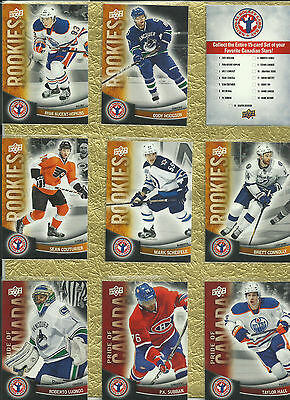 2012 Ud National Hockey Card Day - Full Set 17 Cards - With Sidney Crosby