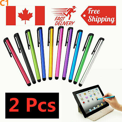 Universal Capacitive Touch Screen Stylus Pen For iPad Air Mini iPhone PC Tablet