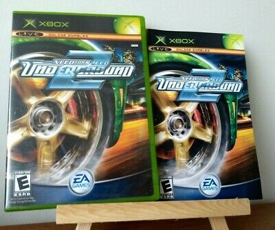 Need for Speed: Underground 2 (Microsoft Xbox, 2004) Complete, CIB, Excellent!
