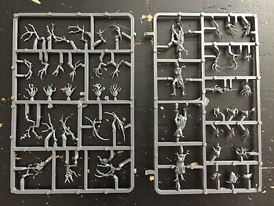 WARHAMMER WOOD ELVES Dryads winter painted army lot