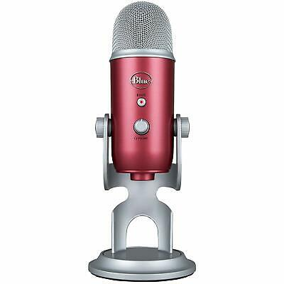 Blue Microphones Yeti USB Professional Microphone Steel Red (BRAND NEW, SEALED)