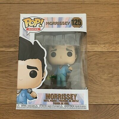 Pre Order Funko Pop Morrissey 125 NTWRK Exclusive Not Chase Flocked Vaulted