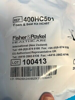Fisher & Paykel Foam Cushion and Silicone Seal for FlexiFit 407 Nasal Mask
