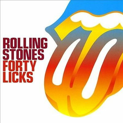 Forty Licks by The Rolling Stones (CD, Sep-2002, 2 Discs, Virgin) Like New