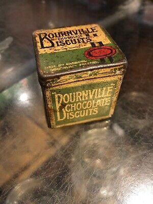Bournville Chocolate Biscuits Sample Tin Genuine