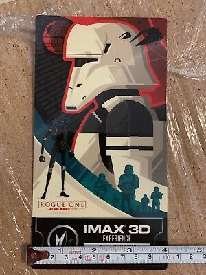 Disney Star Wars Rogue One  - IMAX Regal Collectible Movie Ticket - New