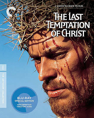 The Last Temptation Of Christ Blu-Ray Criteron Collection #70 Sealed Free Ship