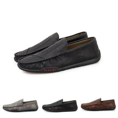 Men's Casual Pumps Slip On Loafers Driving Moccasins Comfy Boat Shoes Flat