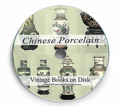 Rare Chinese Porcelain Books on DVD Antique Pottery Marks Vase Plate Figurine 16