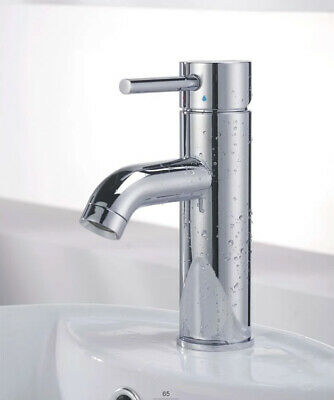 LOT 1-20X Hot/Cold Water Single Lever Bathroom Sink Faucet Basin Tap Accessory