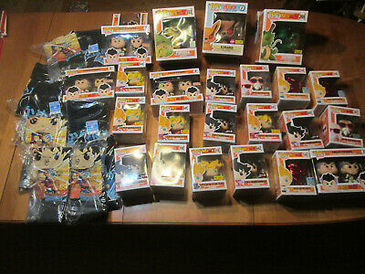 Funko Pop Stuff Dragon Ball Z & Naruto Shippuden Chase Complete Your Collection