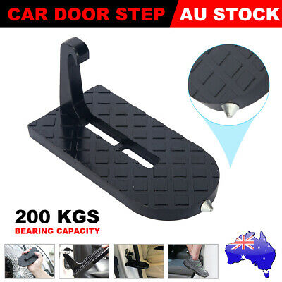 Multifunction Car Door Step Pedal Rooftop Hook Latch Ladder for Jeep SUV Truck