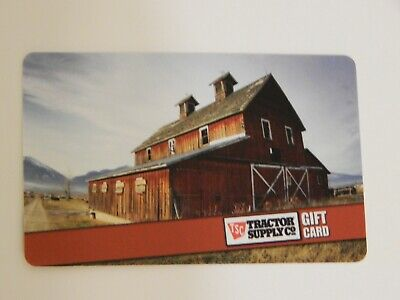 Tractor Supply Company Gift Card NO $ VALUE -NEW-