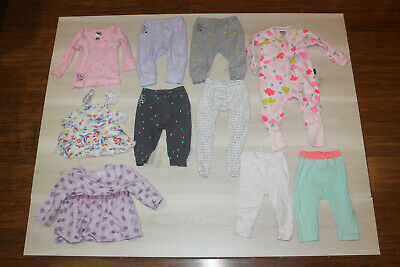 Pack of Size 00 assorted Bonds and Pumpkin Patch Baby Clothes