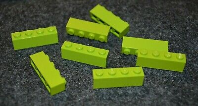 NEW LEGO Green Lime Plate Bricks 1 x 4 LOT 10  Pieces