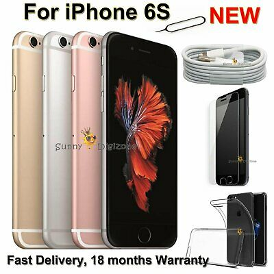 New Unlocked Smartphone Apple iPhone 6s 128GB 32GB 64GB Sim Free Rose Gold UK