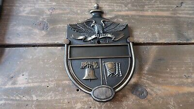New American Pride Liberty Bell Constitution DOOR KNOCKER 6.75""