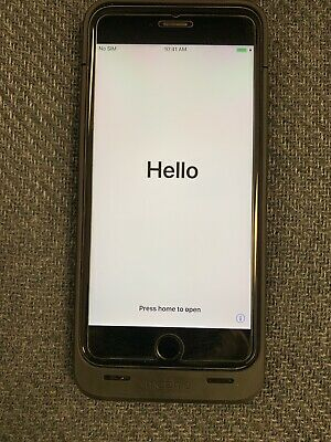Apple iPhone 6s Plus - 128GB - Space Gray (Verizon) A1634 CDMA + GSM)