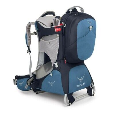 Osprey Poco AG Premium Seaside Blue child carrier and pack brand new RRP £320