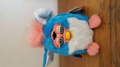 1999 blue and pink furby babie