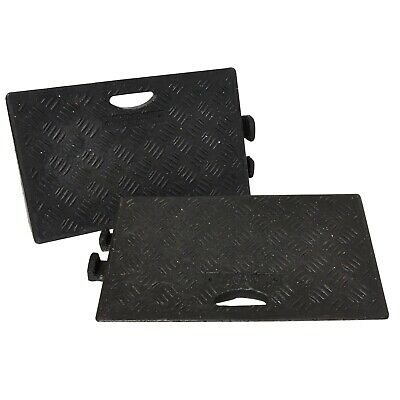 Pack of 2 - HEAVY DUTY Kerb Ramps (Perfect for HGV use) - VERY HARD WEARING