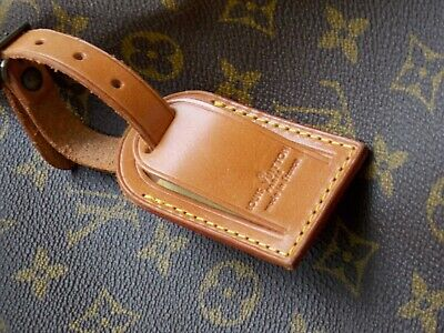 Authentic Louis Vuitton Luggage Name ID Tag Made in France 1 PIECE
