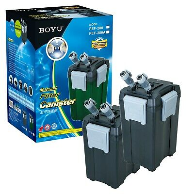 Boyu External Canister Filter Fish Tank Aquarium Pump 800-1000L/H to FEF Series