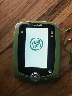 Leappad 2 Green Stylus Battery Operated Used  Work Perfect
