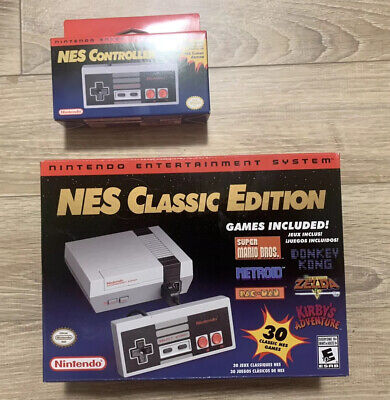 Nintendo NES Classic Edition Home Console With Controller - NEW IN BOX