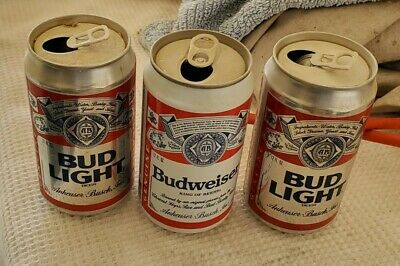 Budwiser/budlight Empty Cans