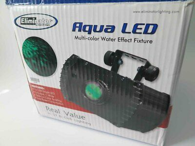 ELIMINATOR AQUA LED Multi Color Water / Fire Effect Light in Original Box