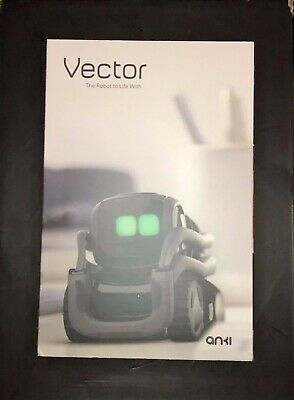 New Anki 000-00075 Vector Robot With Alexa Voice Assistant Factory Sealed