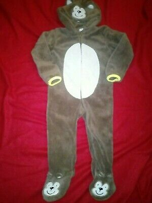 Bnwt Primark Early Days Monkey All In One 18-24 Months