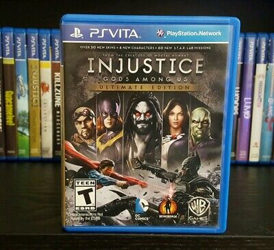 Injustice: Gods Among Us - Ultimate Edition (Sony PlayStation PS Vita, 2013)
