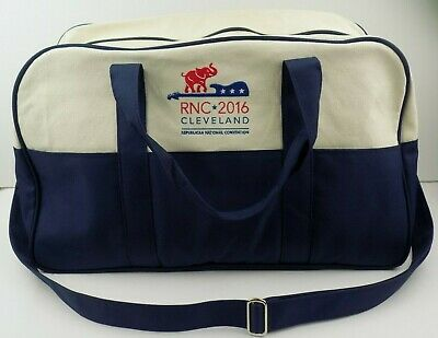 Vineyard Vines Republican National Convention 2016 Cleveland Duffle Tote Bag RNC