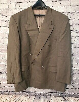ZEIDLER & ZEIDLER Men's 100% Wool Tan Jacket/Coat Size: 44R NO PANTS!