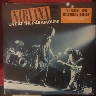 Nirvana Live At The Paramount Limited Edition Orange 2 Vinyl Set