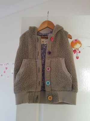 Joules Beautiful Girls Bodywarmer Gilet Age 5 Fab!