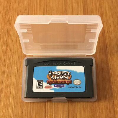 Custom Harvest Moon: More Friends of Mineral Town - Nintendo Game Boy GBA