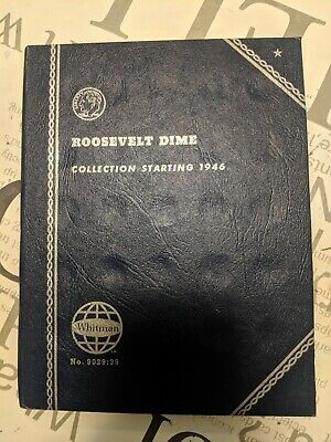 Whitman US Roosevelt Dimes Collection 1946 to Date (1967)