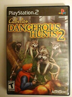 Cabela's Dangerous Hunts 2 : Sony PlayStation 2 (PS2 Game, 2005) Complete