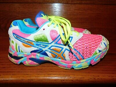 Asics Gel Noosa Tri 7 Running Shoes Multicolored Training Sneakers US 11