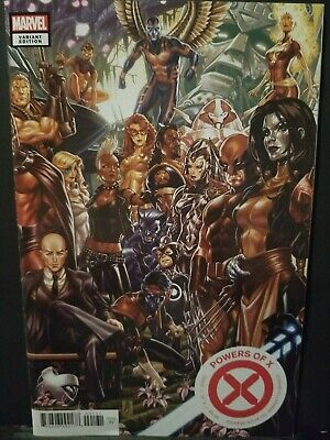 Powers Of X #1    Mark Brooks Connecting Variant    First Print   House Of X