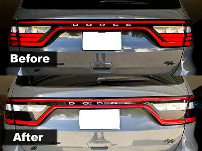 Crux Moto Tail Light Tint Air Release 20% V2 fits Dodge Durango 2014 - 2020