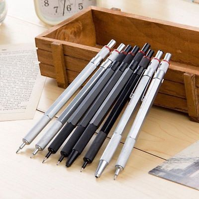 2.0mm 0.9/1.0mm 0.7mm 0.5mm Drafting Metal Mechanical Pencil For Drawing 1pc