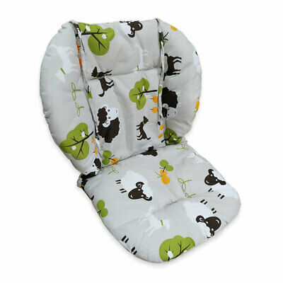 High chair cushion, thick and soft breathable stroller / stroller cushion